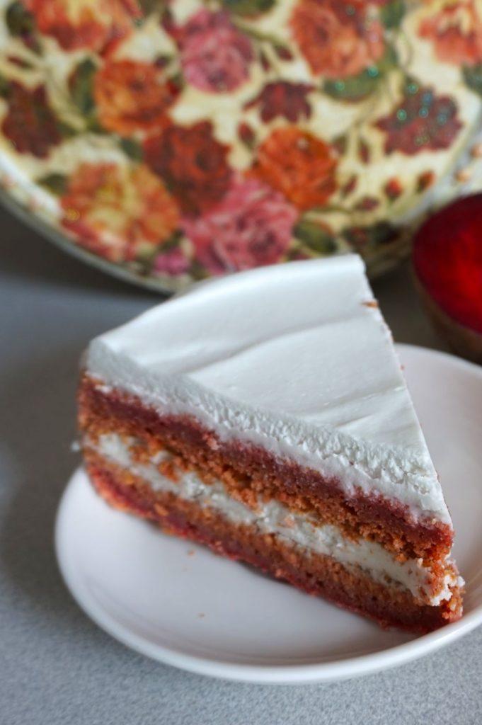 Red Velvet Cake z burakiem